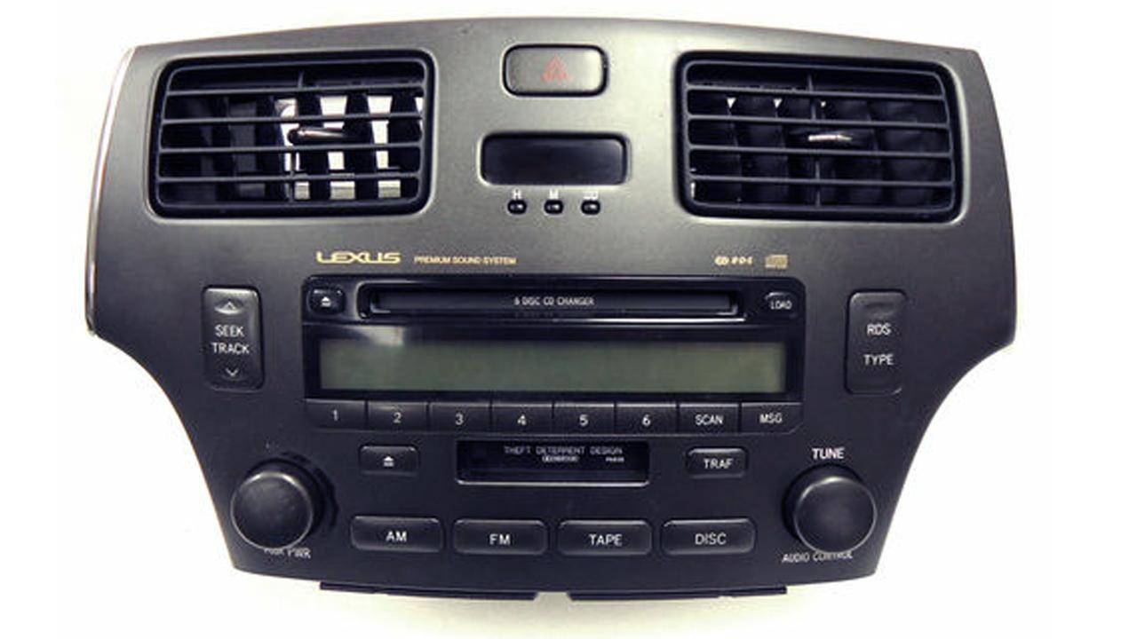 02 03 04 05 06 Lexus ES330 ES300 Radio Tape Repair 6 CD Disc Changer