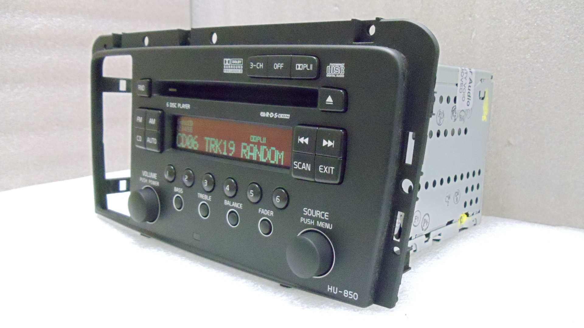 05 06 07 08 Volvo V70 S60 Rds Radio Stereo 6 Disc Changer